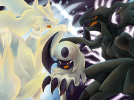 The Yin Yang Pokemon by VerminFu