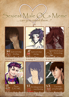 -Meme- Sexiest Male OCs. by Iduro