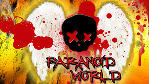 Wallpaper ''Paranoid World'' (1366x768) by Miktik