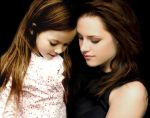 Bella and Renesmee by bellanessiecullen