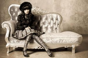 gothic doll by Morgennebel08