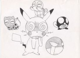 Keroro Pokemon Cosplay OLD