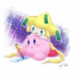Jirachi and Kirby by echo-mp