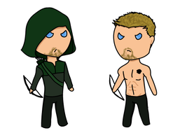 Green Arrow- Oliver Queen by p0cketw0tch