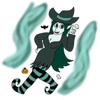Witchy Yadei by TheArgoNinja