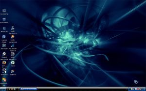 Desktop - Deep Blue by orasa