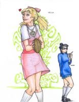 Helga and Phoebe by solid-ghost