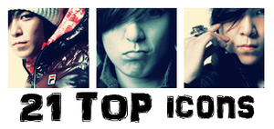 21 TOP Icons by ohmyjongwoon