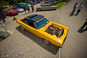 yellow hemi charger by AmericanMuscle
