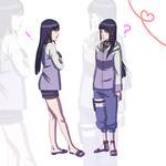 Hinata? Road to Ninja Naruto movie by BayneezOne