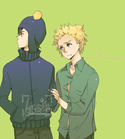 SP: Tweek x Craig by iza-chan