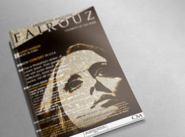 Fairouz (Magazine Mock-UP) (Cover) by SALAM-SOL