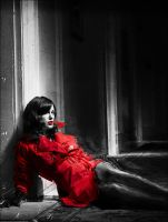 Woman In Red by Leon-GFX