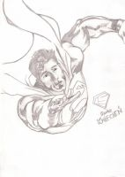 Superman - Up up and away by LukeSpidey