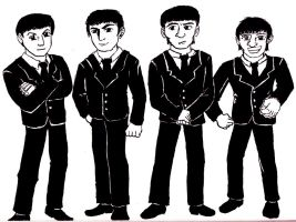 The Beatles Re-contrasted by Jetultra