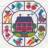 Ondori Cross Stitch Sampler 1 by missy-tannenbaum