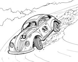 Herbie Sketch by Charger426