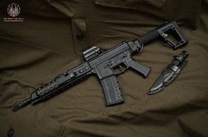 GHK G5 Carbine - 12 inch Barrel by faramon