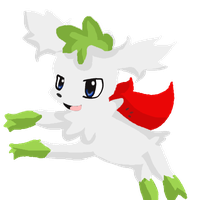 Shaymin Sky Form by Chibixi