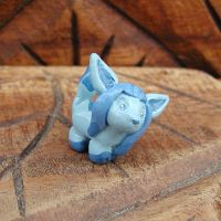 Mini Glaceon Sculpture by LeiliaClay