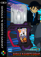 Ghouls n Ghost Gashat box by netro32