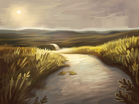 Waddenzee Speedpaint by Empoh