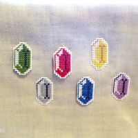 Legend of Zelda Rupee Thumbtacks by agorby00