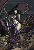 Lady Death CG by Jats
