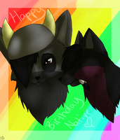 HAPPY BIRTHDAY NATIIVE by Keshvel