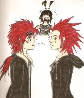 reno's and axel's meeting by confuzed-anime-fan