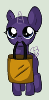 Trick Or Treating Filly Base by ponyboogers-pixels