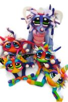 Berry Bismol Dragon keeper of the cupcake goblins by Tanglewood-Thicket