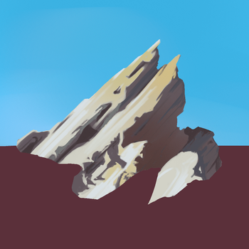 Rock Study by Mesmer12345