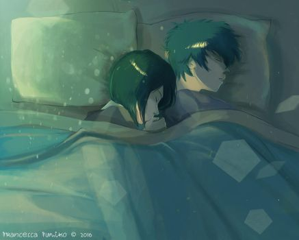 Daiken - Sleep Late by LaFumiko