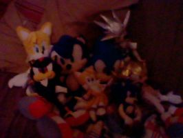 My Sonic Plushies by SonicAsura