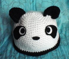 Panda Hat by WollMia