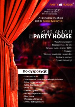 Flayer project  - PartyHouse by 4inArt