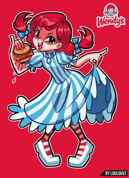 Wendys - Commissions open! by LoulouVZ