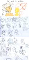 Salama sketch dump by Huispe