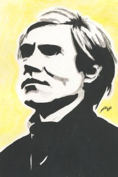Andy Warhol by SSkyborg