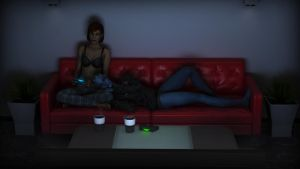 Old School Gamers by E-Fornax