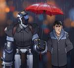 T.P.A Agents: Caught in the Rain by thdark