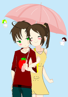 Chibi Romano x S.A by ask-South-Africa