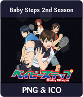 Baby Steps 2nd Season - Anime Icon by Rizmannf