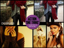 Action One Thing by ValenEditions11