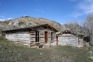 Bannack Ghost Town 211 by Falln-Stock
