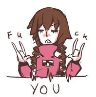 mado wont take any of your shit today by Silss