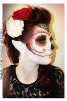 Sugar Skull Fantasy Makeup by Kan3xO