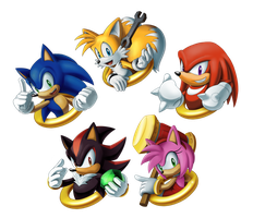 Sonic Charm Design Set 1 by sonicolas