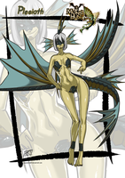 Plesioth Monster girl by KukuruyoArt
